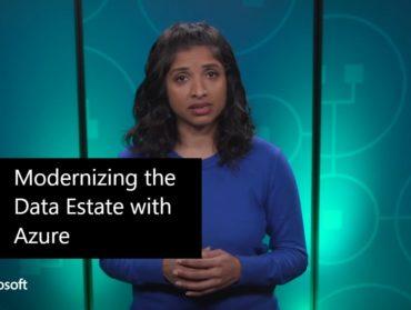 Modernizing the Data Estate with Azure   Rachita Sundar