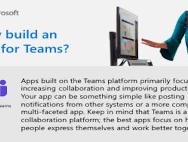 Why build an app for Teams?