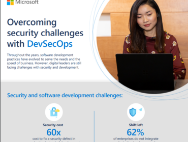 Overcoming security challenges with DevSecOps